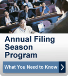 [IRS AFSP What You Need to Know]